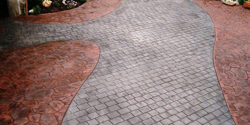 Печатный бетон в москве и московской области добавка в бетон купить в костроме